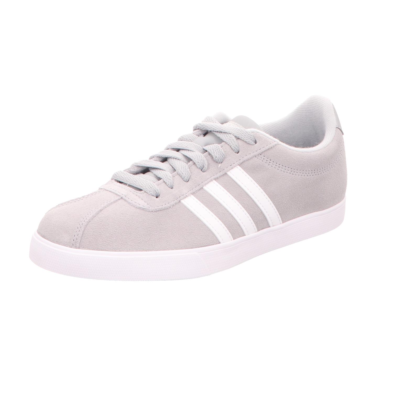 Adidas Damen-Sneaker Courtset Grau