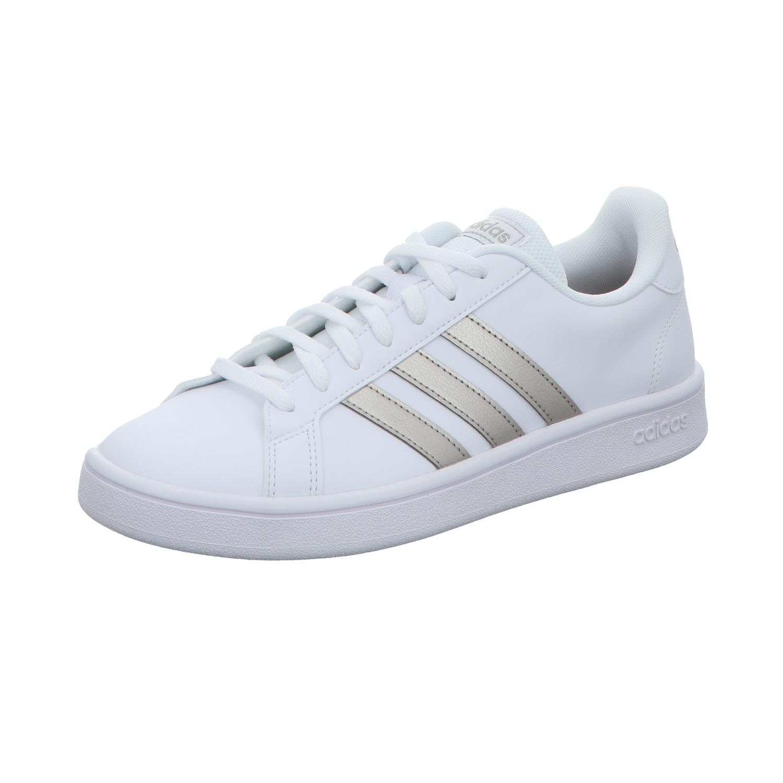 Adidas Damen Sneaker Grand Court Base Weiß