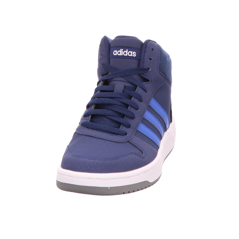 Adidas Adidas Jungen Schnürstiefelette Hoops Mid 2.0 K Blau
