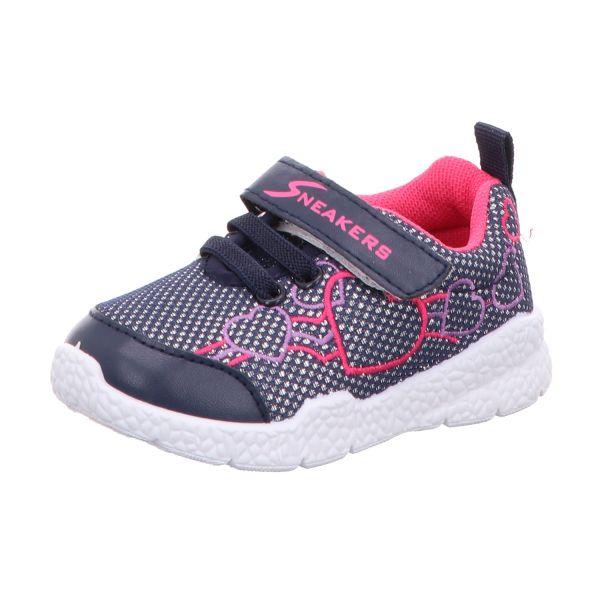 Sneakers Mädchen-Slipper-Kletter-Sneaker Blau