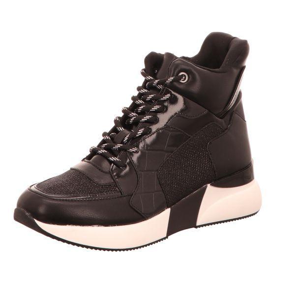 La Strada Damen-Sneaker High Sneaker Schwarz-Multi