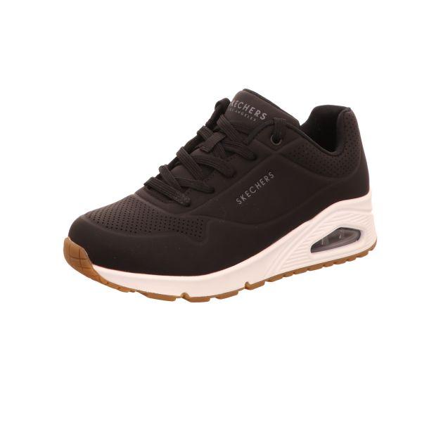 Skechers Damen-Sneaker Uno Stand On Air Schwarz