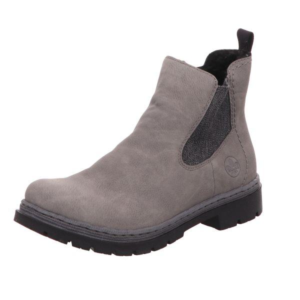 Rieker Damen-Boot Grau