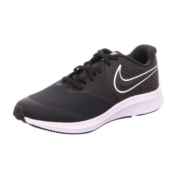 Nike Jungen-Sneaker Star Runner 2 Schwarz