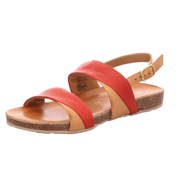 Scarbella Damen-Sandalette Rot