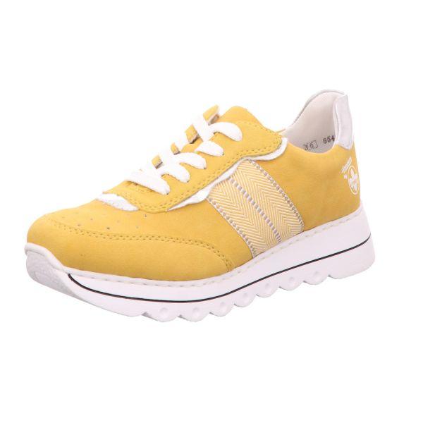 Rieker Damen-Sneaker Gelb