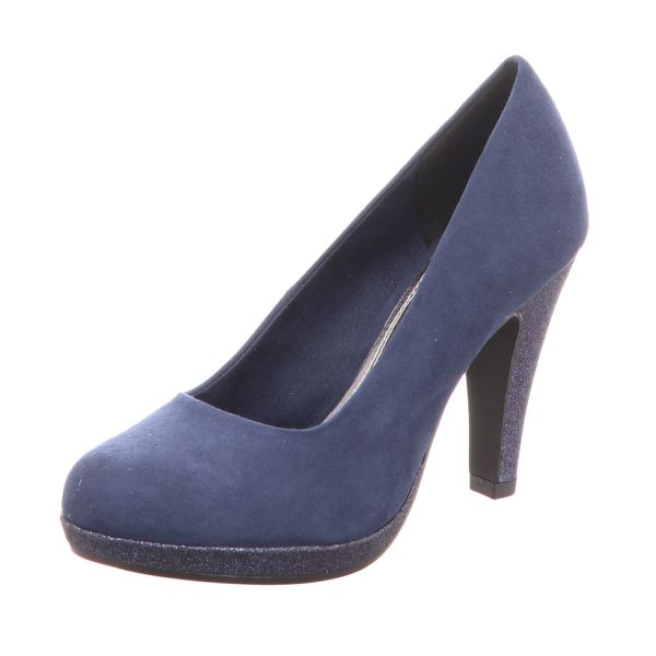 MARCO TOZZI Damen-Pumps Navy-Blau