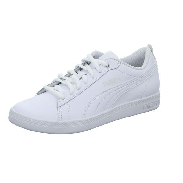Puma Damen-Sneaker Smash Wns v2 L Weiß
