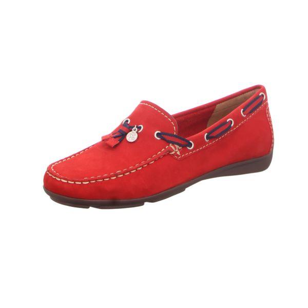 BOXX Damen-Slipper-Halbschuh Casual Rot