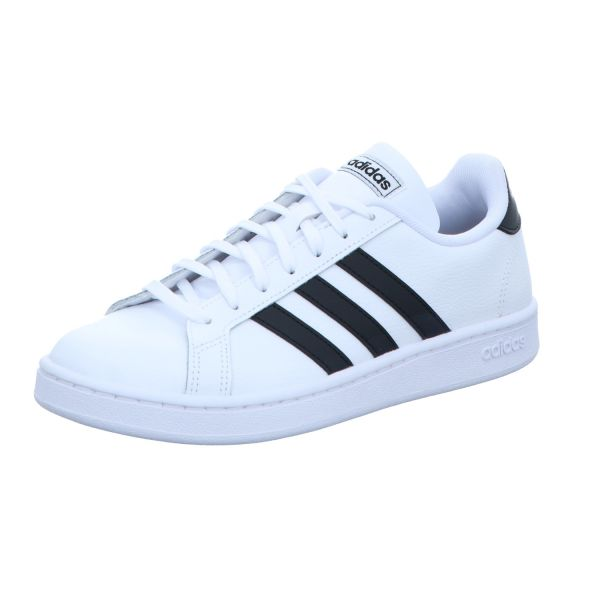adidas Herren-Sneaker Grand Court Weiß-Schwarz