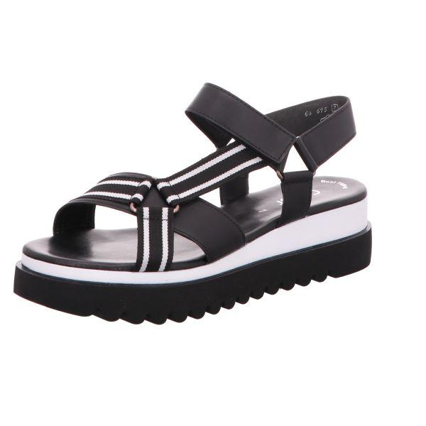 Gabor Damen-Sandalette Schwarz-Weiß