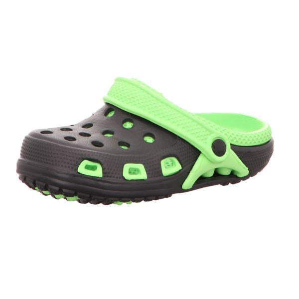 Sneakers Kinder-Badeschuh Schwarz-Grün