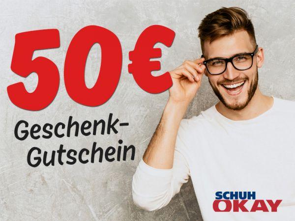 50 € SCHUH OKAY Gutschein
