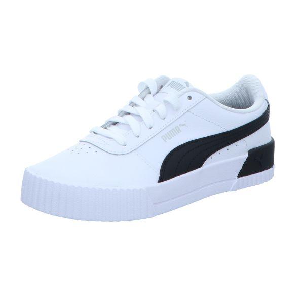 Puma Damen-Sneaker Carina L Weiß-Schwarz