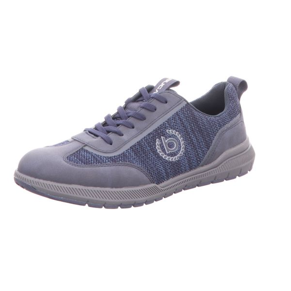 Bugatti Herren-Sneaker-Schnürhalbschuh Blau