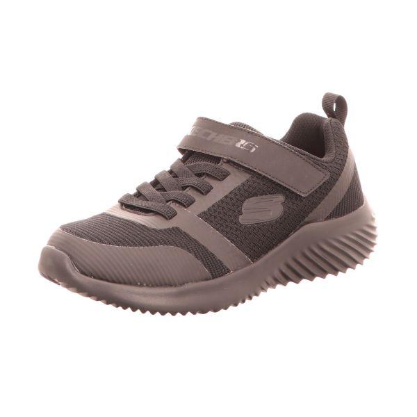 Skechers Jungen-Slipper-Kletter-Sneaker Bounder Zallow Schwarz