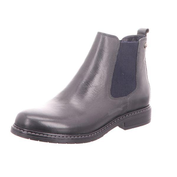 BOXX Damen-Stiefelette Chelsea Boot Dunkel-Blau