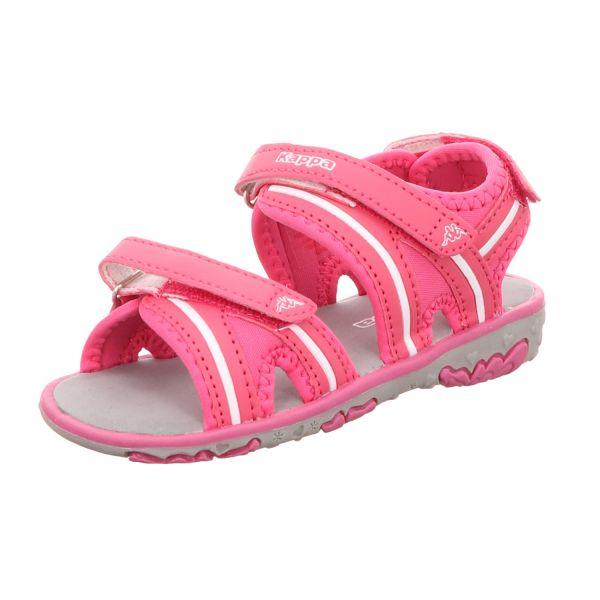 KAPPA Mädchen-Sandalette Breezy II K Pink