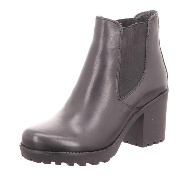 BOXX Damen-Stiefelette Ankle Boot Schwarz