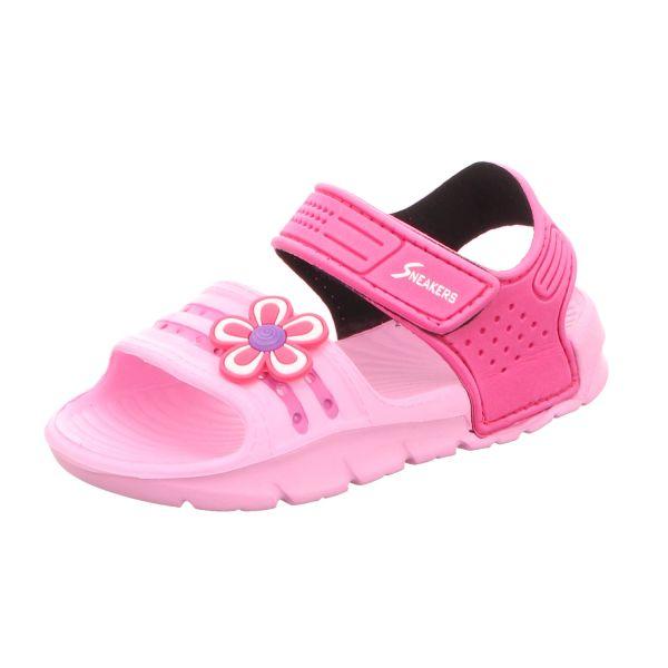 Sneakers Mädchen-Sandalette Pink