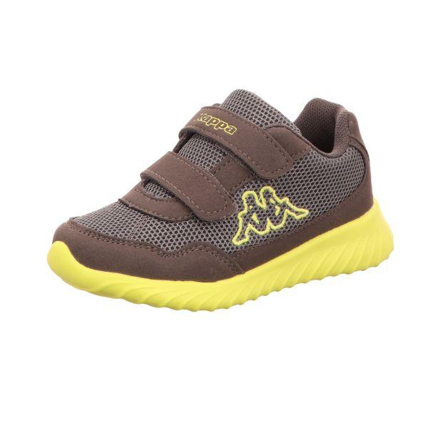 KAPPA Jungen-Sneaker-Klettschuh Cracker II BC Kids Grau