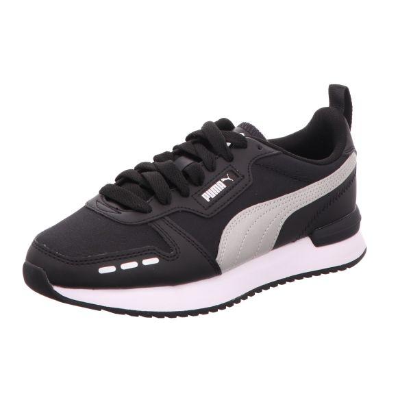 Puma Damen-Sneaker R78 WMN´S Metallic FS Schwarz-Silber