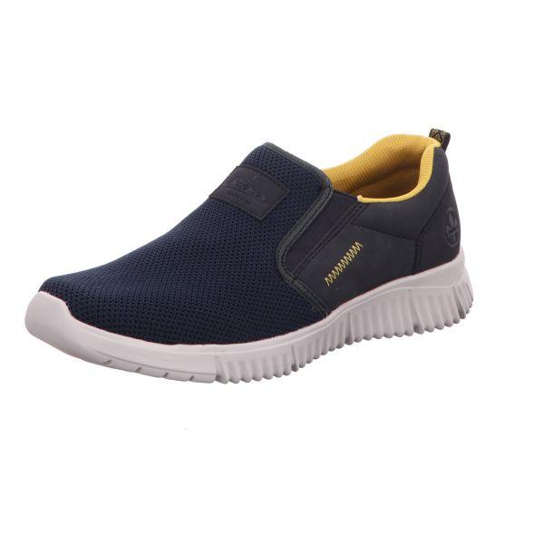 Rieker Herren-Sneaker Ozean-Schwarz-Blau