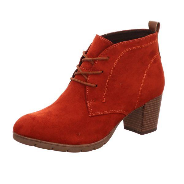 MARCO TOZZI Damen-Stiefelette Brick-Rot