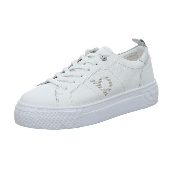 Bugatti Damen-Sneaker-Slipper Infinity Weiß