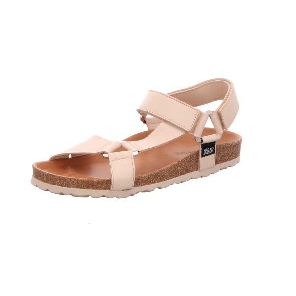 Verbenas Damen-Sandalette mit Tieffußbett Beige