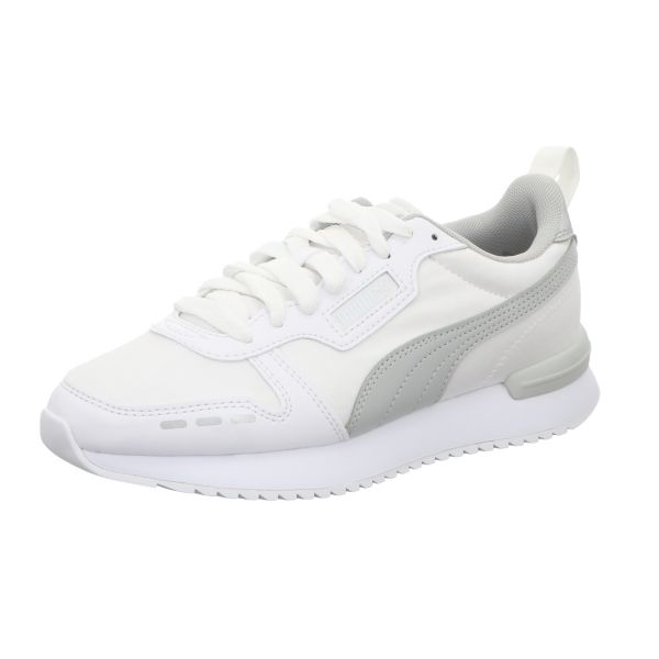 PUMA Damen-Sneaker R78 Wn´s Metallic Weiß-Grau