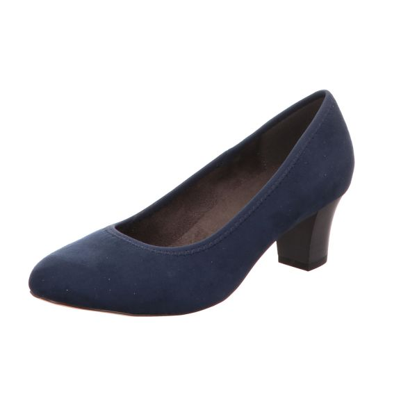 Scarbella Damen-Komfort-Pumps Blau