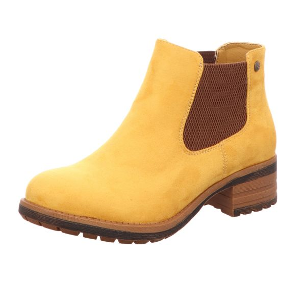 Rieker Damen-Stiefelette Gelb
