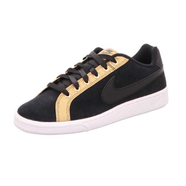 Nike Damen-Sneaker Court Royale Premium Schwarz
