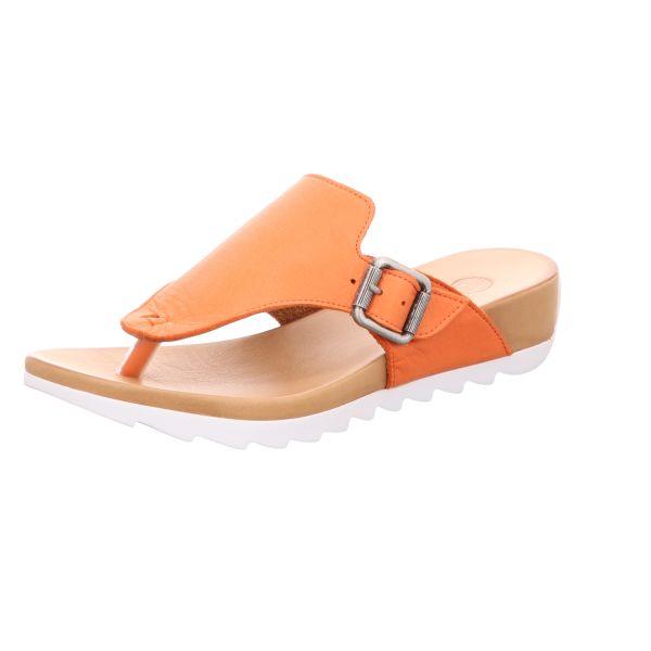 MACA Kitzbühel Damen-Pantolette Orange