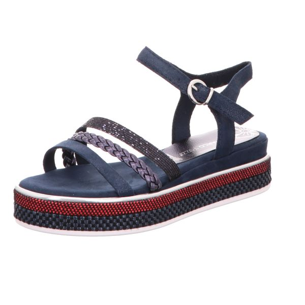 MARCO TOZZI Damen-Sandalette Blau