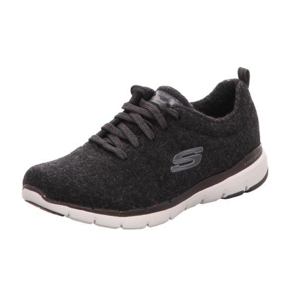 Skechers Damen-Sneaker Flex Appeal 3.0 Schwarz