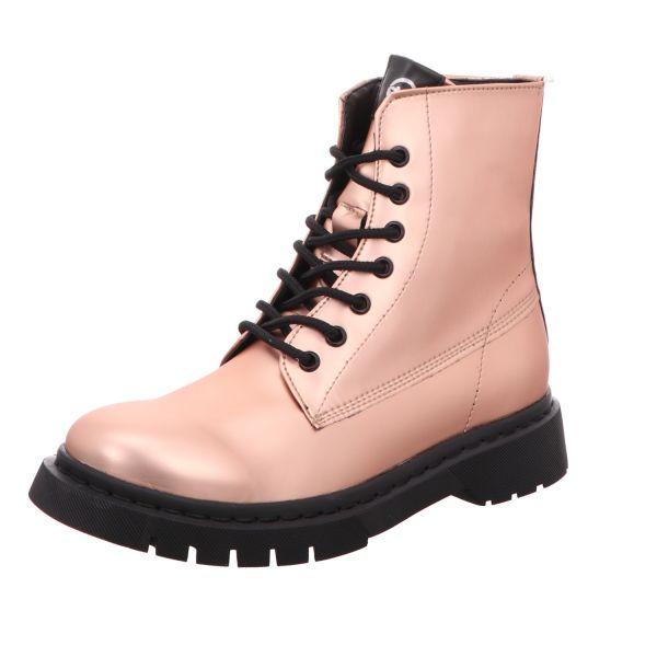 TAMARIS Damen-Schnürstiefelette Pink