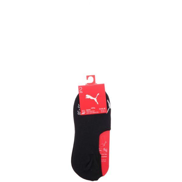 PUMA FOOTIE UNISEX 2-Pack Footie-Socken Schwarz