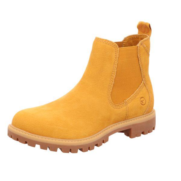 TAMARIS Damen-Stiefelette Gelb