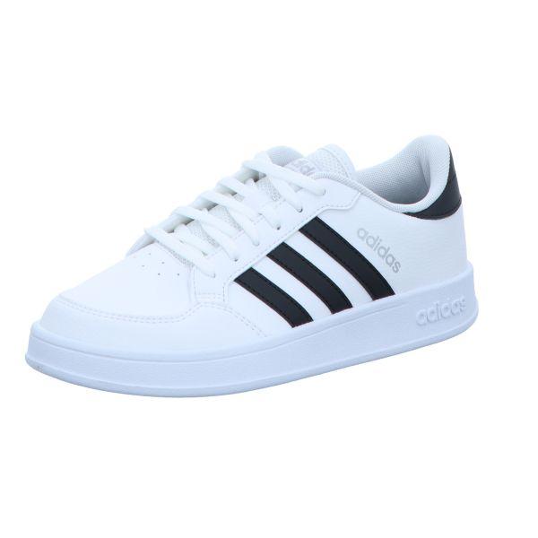 adidas Damen-Sneaker Breaknet Weiß-Schwarz