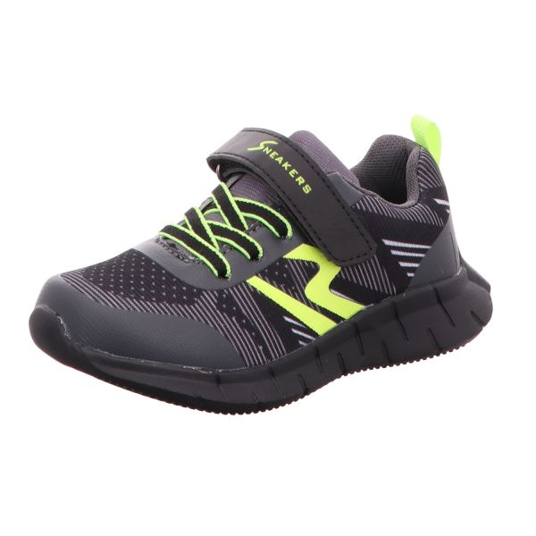 Sneakers Jungen-Slipper-Kletter-Sneaker Schwarz