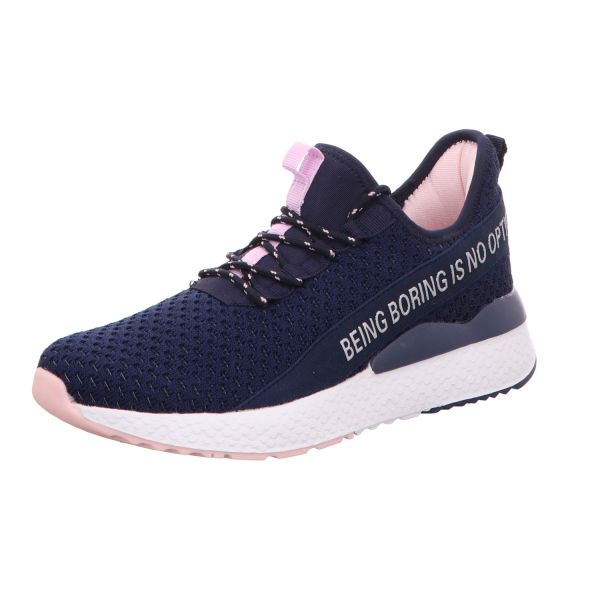Sneakers Damen-Sneaker-Slipper Blau