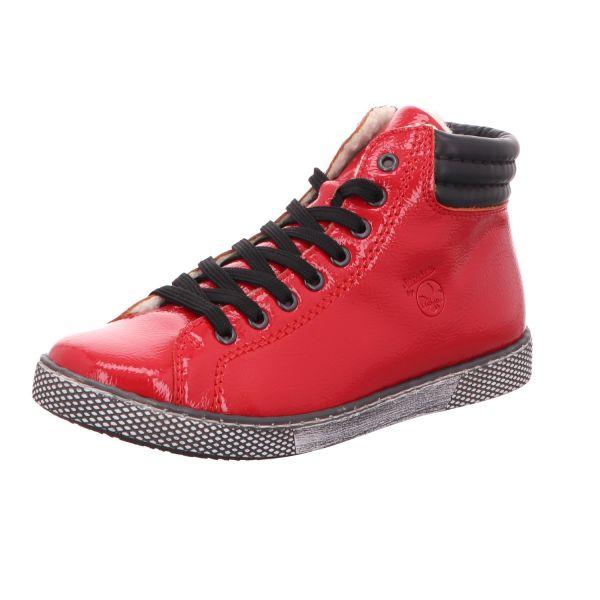Rieker Damen-Sneaker gefüttert Flammen-Rot