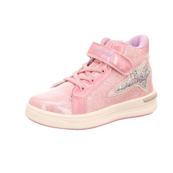 girlZ onlY Mädchen-Stiefelette Pink