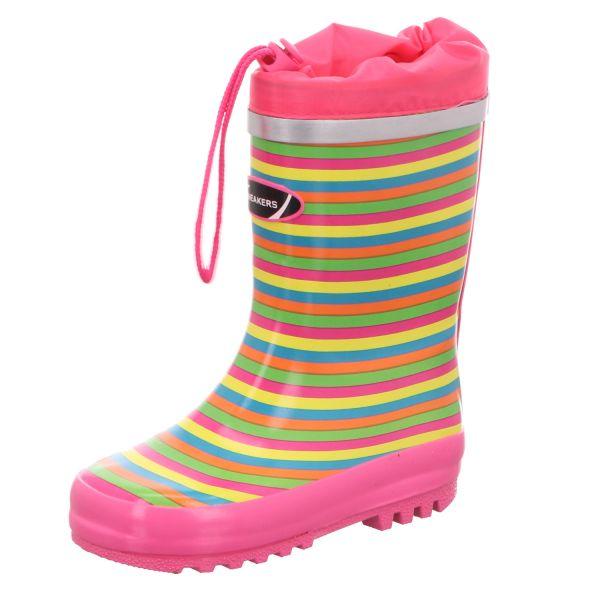 Sneakers Kinder-Gummistiefel Mehrfarbig
