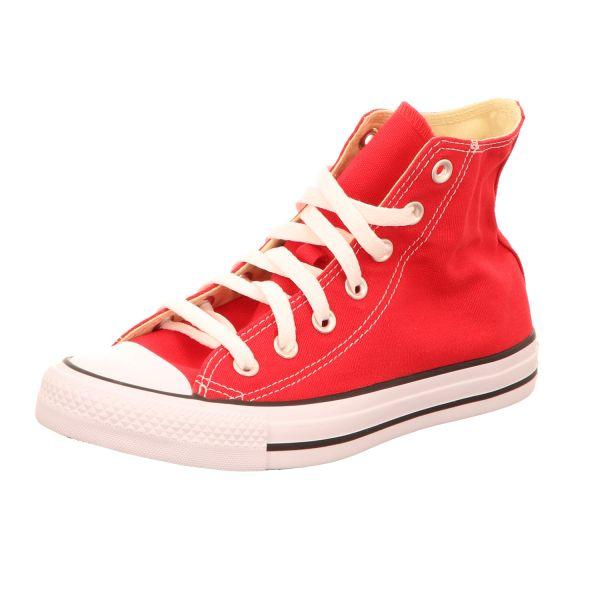 Converse Damen-Leinen-Sneaker CTAS HI Rot