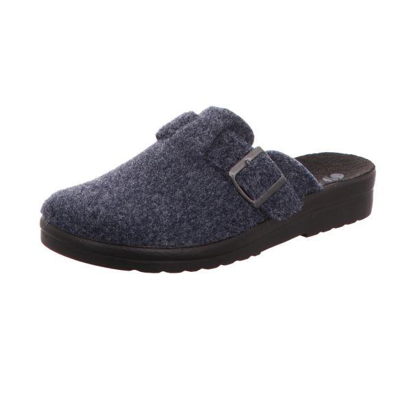 inblu Herren-Pantoffel Blau