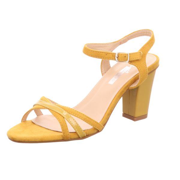 living UPDATED Damen-Sandalette Gelb