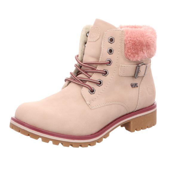 girlZ onlY Mädchen-Schnürstiefel Pink